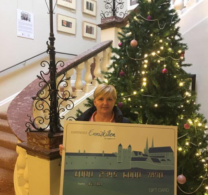 Enniskillen Gift Card Facebook Competition Winner