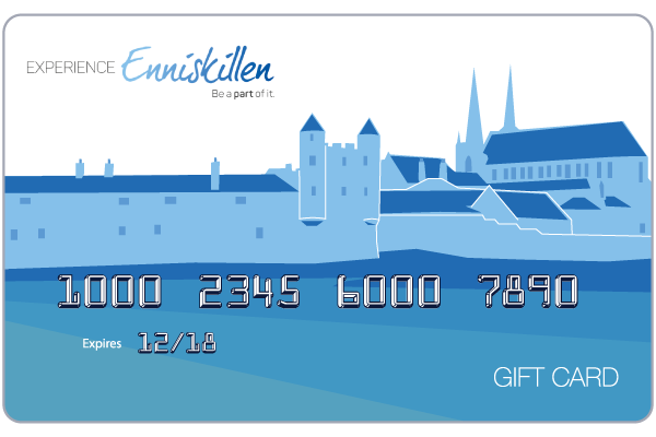 NEW ECO – FRIENDLY ENNISKILLEN GIFT CARD