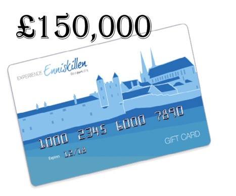 THE ENNISKILLEN GIFT CARD SUPPORTS LOCAL BUSINESSES